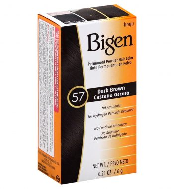 Bigen Permanent Powder Hair Color 57 Dark brown