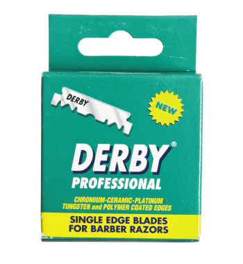 Derby Professional Single Edge Razor Blades 100 Count