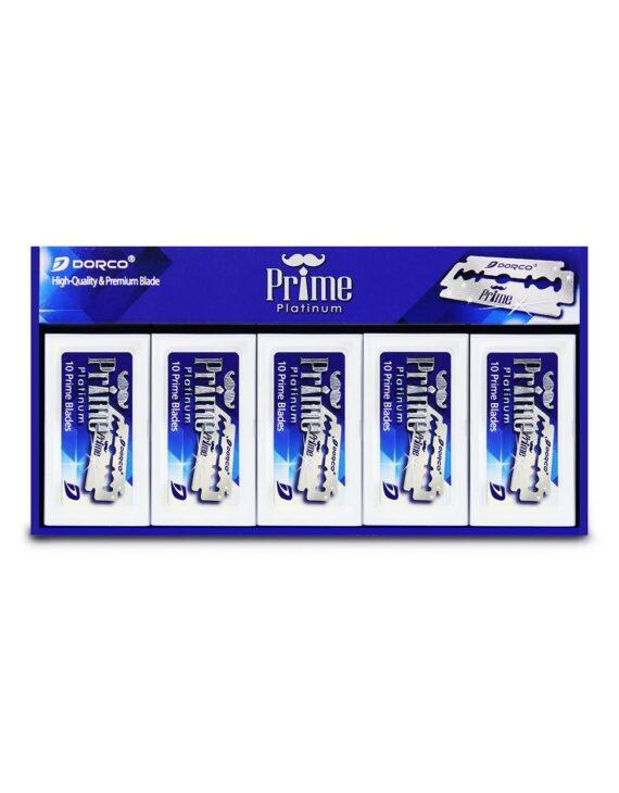Dorco Prime Double Edge Razor Blades 100ct