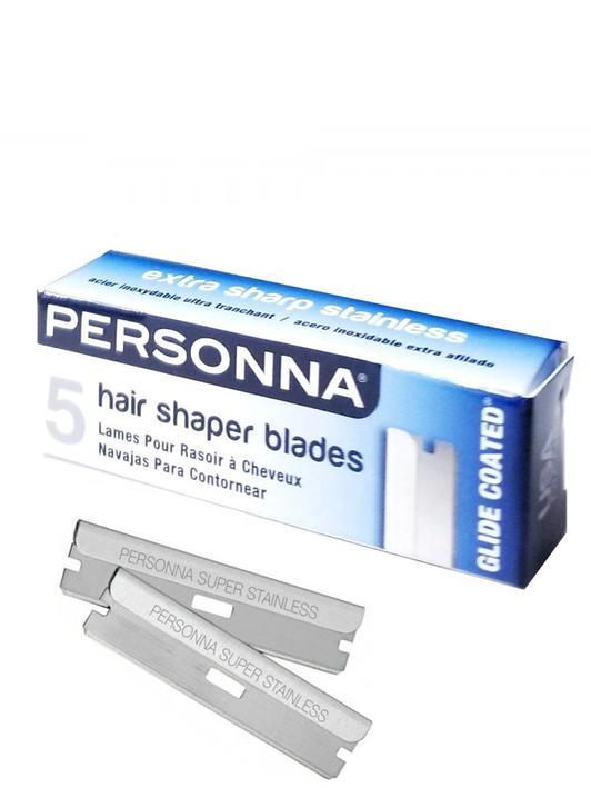 PERSONNA Single edge HAIR SHAPER BLADES - 5