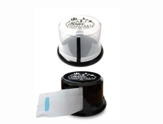 SHAVE FACTORY NECK STRIP DISPENSER - Suction plastic cups