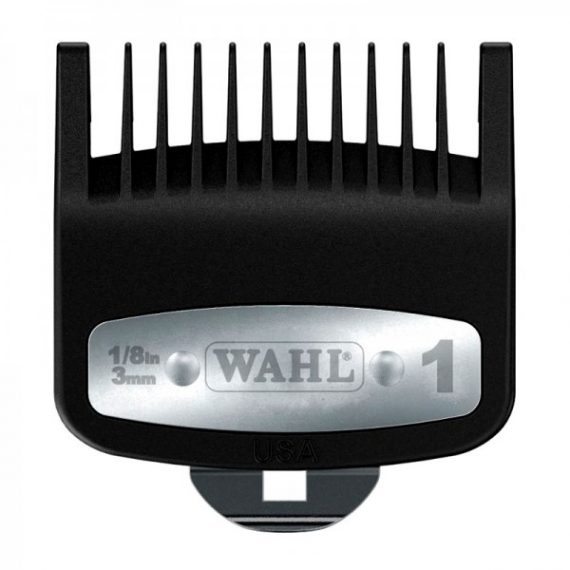WAHL PREMIUM CUTTING GUIDE COMB WITH METAL CLIP #1