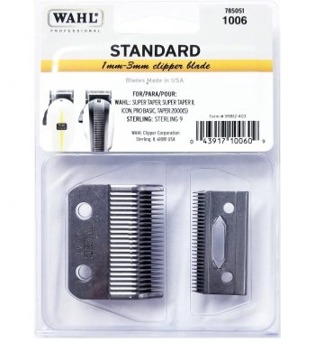 Wahl 2 Hole super taper replacement Blade 1006