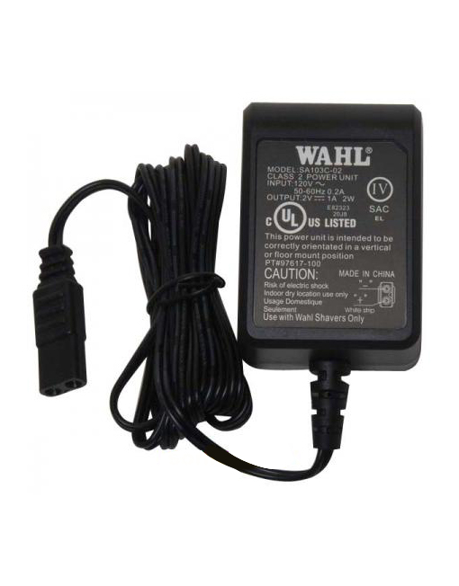 Wahl 5 Star Burgundy Shaver Replacement Power Charger #ZDM020100US