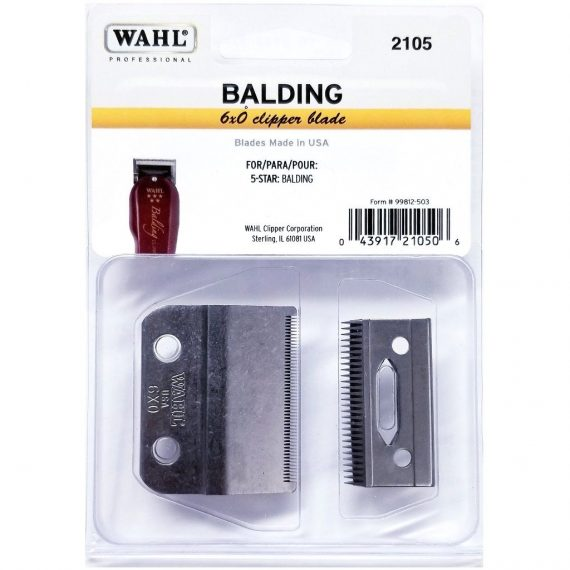 Wahl Balding Clipper Replacement Blade 2105 6x0