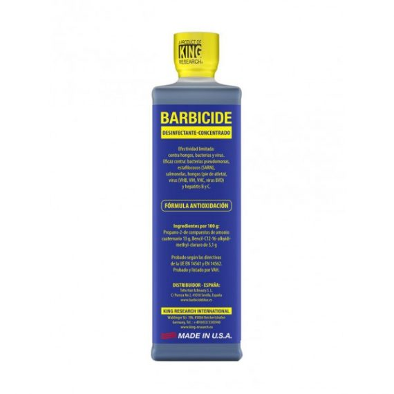 Barbicide Disinfectant Concentrate 16 oz