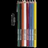 GraffEtch Colored Pencils 8 set