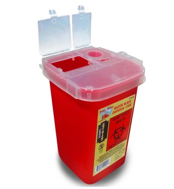 Razor blade disposal Box