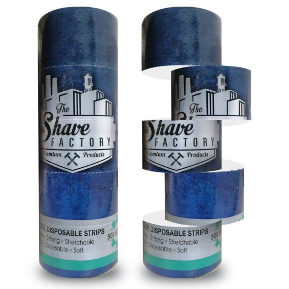 THE SHAVE FACTORY BARBER NECK STRIPS ROLL - 500