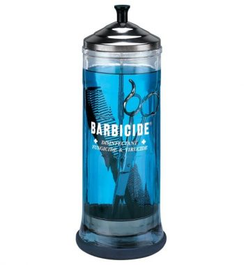 Barbicide Disinfecting Jar Glass