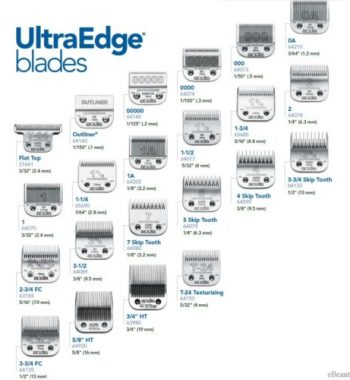 Andis Ultraedge Detachable Blades & Compatible With Oster