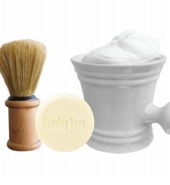 The Shave Factory set (soap, brush,mug)