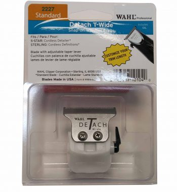 WAHL Detach T-Wide Snap On Cordless Detailer Trimmer Blade 2227