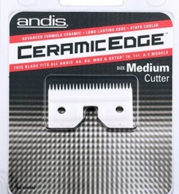 andis ceramic edge medium cutter