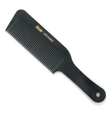 Annie Flat Top Comb with ridged waved teeth 9.5'' #69