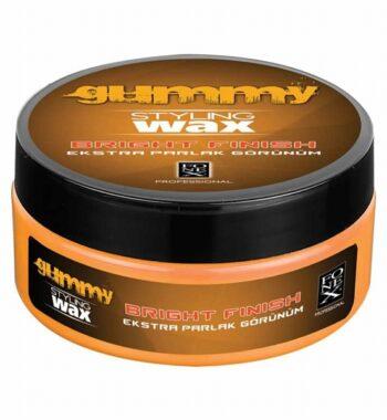Gummy bright finish Styling Wax