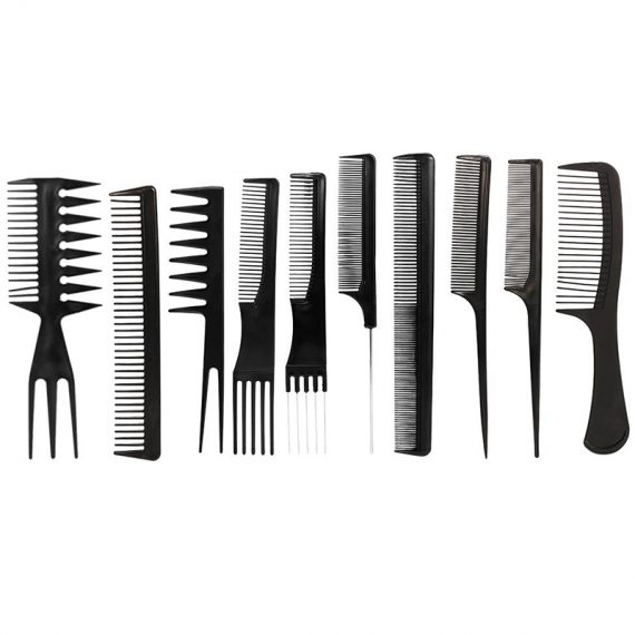 looks 10 Pcs Hair Styling Comb Set