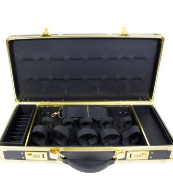 HairArt Barber Case Gold & Black