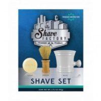 The Shave Factory Shaving set - soap, brush, & mug