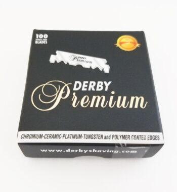 Derby Premium Single Edge Razor Blades 100 CT - PRE CUT