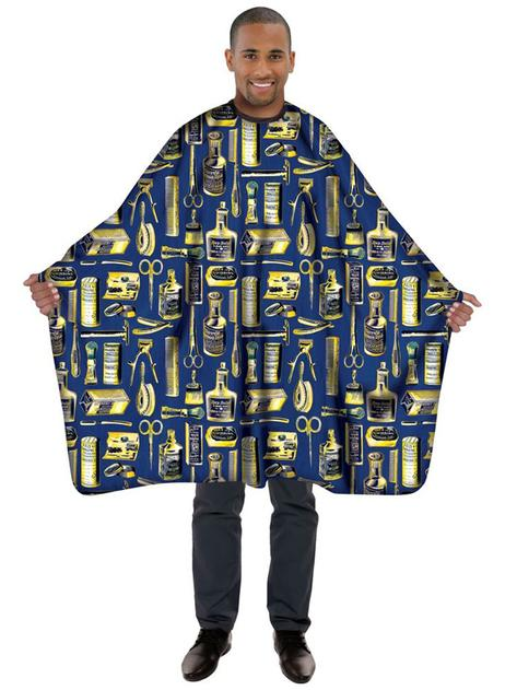 Betty dain limited edition vintage gold styling cape blue