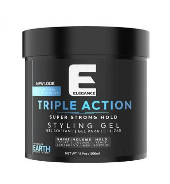 Elegance Ultra Triple Action Hair Gel earth 16.9oz