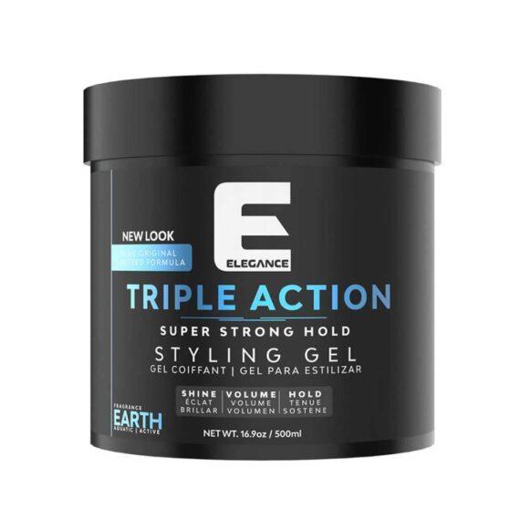 Elegance Ultra Triple Action Hair Gel earth 16.9oz