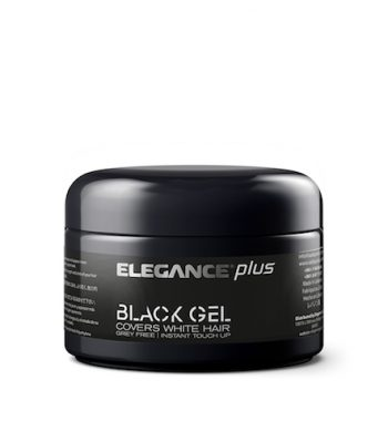 ELEGANCE PLUS BLACK GEL 3.5oz