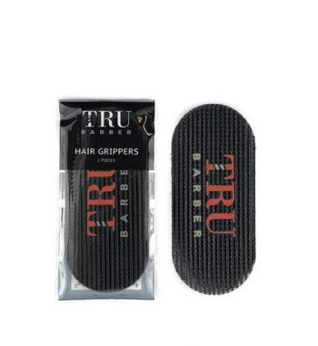 tru barber black hair grippers 2pc