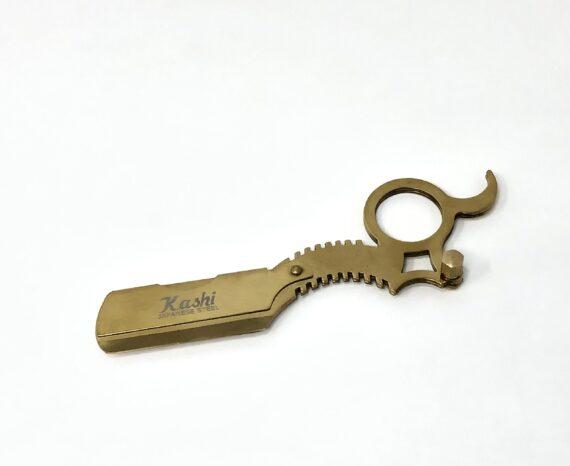 Kashi Finger Insert Razor holder gold