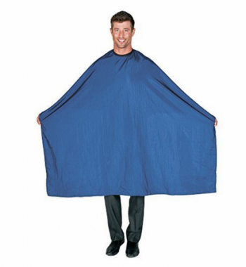 Betty Dain Nylon Cutting Cape Antron blue