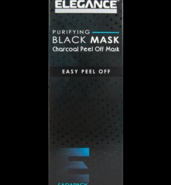 ELEGANCE purifying black mask charcoal peel off mask