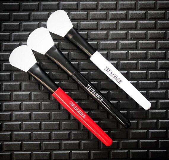 Trubarber black mask applicator brush - multi colors