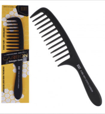 Beaut anti-static carbon comb 61862