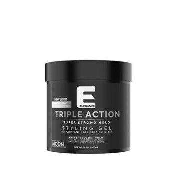 elegance triple action hair gel moon 17oz