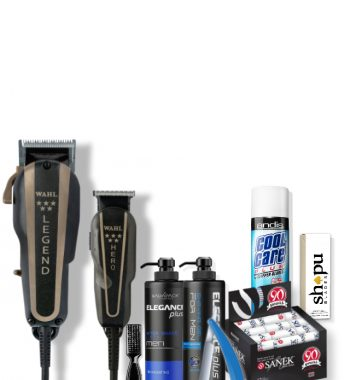 Barber Starter Kit - Wahl legend & Hero combo plus Barber essentials