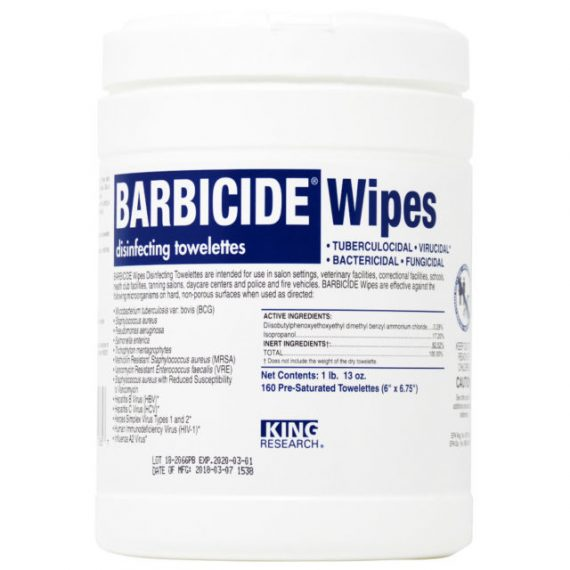 Barbicide Disinfecting Wipes