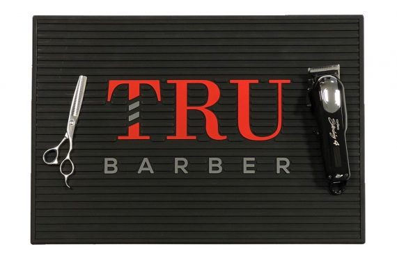 TruBarber barber station Mat 19''x13'' - mulitple colors