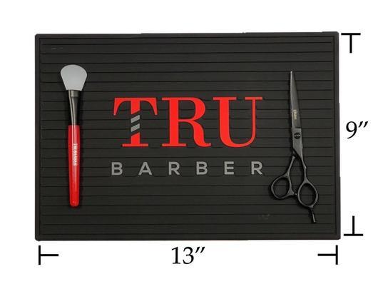 TruBarber mini barber station Mat 14''x9'' - mulitple colors