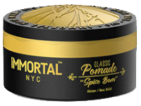 immortal nyc pomade spice boom hair wax