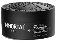 immortal nyc pomade iconic men hair wax