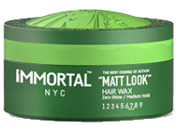 Immortal NYC Matt Look Hair Wax