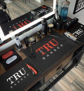 TruBarber barber station Mat