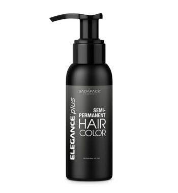 elegance plus semi permanent hair color black