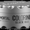 Immortal professional coloring hair wax black