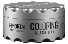 immortal professional coloring black wax