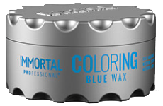 immortal professional coloring blue wax