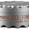 Immortal professional coloring hair wax brown