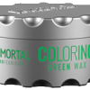 Immortal professional coloring hair wax green