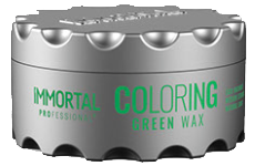 immortal professional coloring green wax